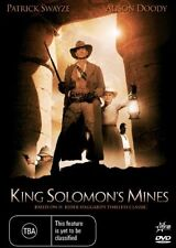 King Solomon's Mines (DVD, 2006)*R4*Patrick Swayze *VGC