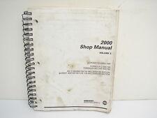 2000 Ski Doo Volume 3 MX Z Summit Formula Z Touring Service Shop Manual