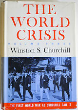 THE WORLD CRISIS VOLUME 3 BY WINSTON S. CHURCHILL *FIRST EDITION*