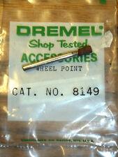 "NEW! DREMEL 1/8"" X 1/4"" ABRASIVE GRINDING WHEEL POINT #8149 for ROTARY TOOL"