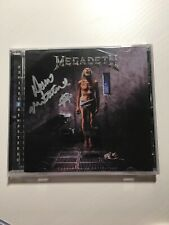 Megadeth Countdown To Extinction CD Autographed Dave Mustaine Sealed Auto
