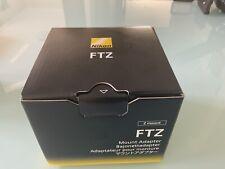 Nikon FTZ Mount Lens Adapter - 4185