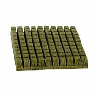 "Grodan 1.5"" Inch A OK Starter Plugs Cubes 49 Count  Stone Rockwool Grow Media"