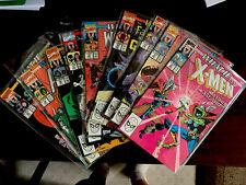 Lot of 9 Marvel Comics What If X-Men #12-13-14-15-16-17-18-19-20 VF+NM 1990