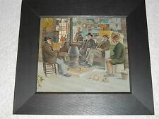 "1897 FRAMED LITHO ""Old Country Store""Kennebunkport-of Abbott Graves Oil Painting"