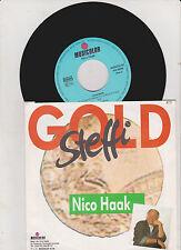 "NICO HAAK (7"") ""GOLD STEFFI""  [*RARE* MUSICOLOR VINYL SINGLE ""SCHLAGER""]"