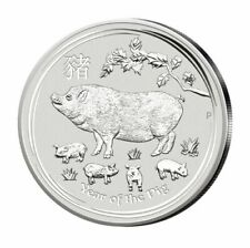 2 oz. Silbermünzen in Lunar