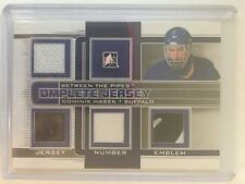 2013-14 Between The Pipes Dominik Hasek /9 Patch Complete Jersey Silver Version
