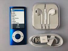 Apple iPod nano 5th Generation Blue (8GB) mint