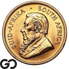 1976 Gold Krugerrand, South Africa 1 OZ Fine Gold Bullion