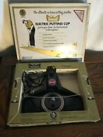 Vintage Golden Eagle 19th Hole Electric Putting Cup EUC w/ box WORKS!!!