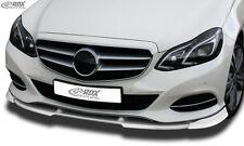 RDX Frontspoiler VARIO-X für MERCEDES E-Klasse W212 ab 2013
