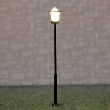 5 x HO OO Gauge Model Train Lamps Railway Lamp posts Led Street Lights #Y0107