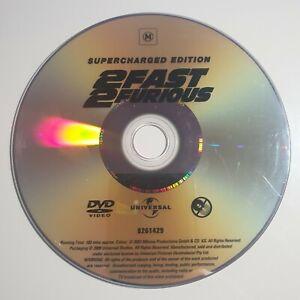 2 Fast 2 Furious | DVD Movie | Vin Diesel, Paul Walker | *Unoriginal Case* | PAL