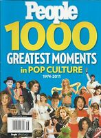 People Magazine Top 1000 Greatest Moments In Pop Culture Movies Politics Music