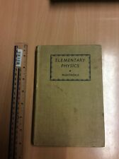 Elementary Physics by E Nightingale 1937