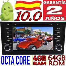 ANDROID 10.0 AUDI A6 (1997-2004)S6 (1997-2007)RS6 1997-2004)COCHE GPS RADIO 4GB