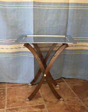 Pewter Tray Table