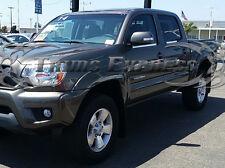 05-15 Toyota Tacoma Double/Crew Cab Window Sill Trim Chrome Door Accent Overlay