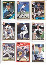 Jim Presley plus 8 more Mariners baseball players