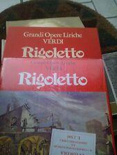 BOX COFANETTO 4 LP + LIBRETTO VERDI RIGOLETTO SIGILLATI FABBRI