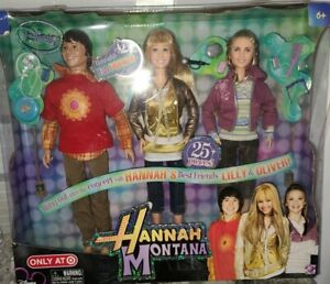 Disney Channel Hannah Montana Lilly And Oliver Best Friends  *Target Exclusive*