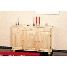 Commode bahut buffet console meuble de rangement cuisine salle à manger PIN