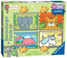 Ravensburger THAT'S NOT MY... MY FIRST JIGSAW PUZZLES (2,3,4,5PC) Toys Games BN