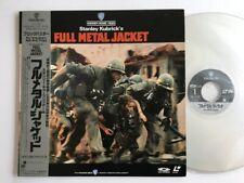 Full Metal Jacket  with Obi Laser Disc Japan NJL-11760 LD