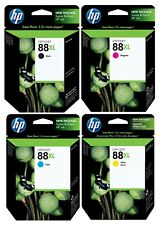 Genuine HP 88XL Ink Cartridge 4-Pack for Officejet Pro K5400 K550 K8600
