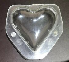 Professional polycarbonate chocolate moulds Hans Brunner 215 Heart Valentines