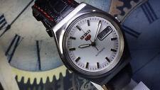 Vintage Seiko 23 J Mechanical Automatic Day&Date Movement Mens Wrist Watch A105