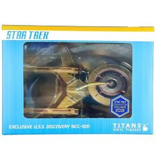 Star Trek Discovery Titans Vinyl USS DISCOVERY Convention Exclusive Model