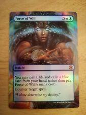 Foil Full Art Force of Will - Magic Alter-Artwork Card