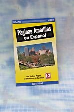 Paginas Amaryllis en Espanol, Yellow Pages of Oklahoma in Spanish, 1994-1995
