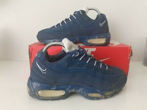 Nike Air Max 95 (110's) Navy Men's Trainers Size UK 6 2013 (view pics)