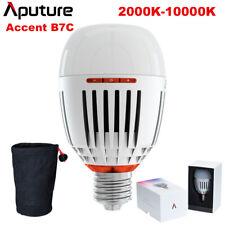 New Aputure B7C 7W RGBWW LED Smart Bulb CRI 95 + Adjustable 2000K-10000K