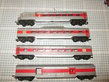 4 x TRIANG TRANSCONTINENTAL COACHES-UNBOXED