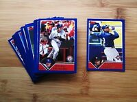 2003 Topps Baseball Texas Rangers TEAM SET w/ Traded + RB (34) Cards