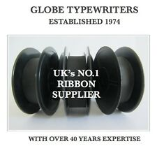 3 x 'TRIUMPH PERFEKT' *BLACK* TOP QUALITY *10 METRE* TYPEWRITER RIBBONS