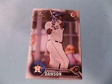 2016 Bowman Draft #BD53 Ronnie Dawson Rookie Card Houston Astros Quad Cities