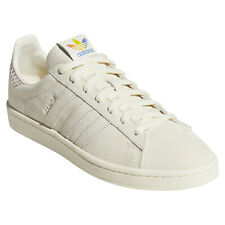 adidas ORIGINALS CAMPUS PRIDE CREAM TRAINERS LGBT RAINBOW TREFOIL SHOES SNEAKERS