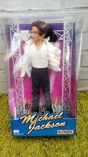 "MICHAEL JACKSON 12"" DOLL 'STREET LIFE' AB TOYS - RARE & COLLECTABLE 1990s unused"