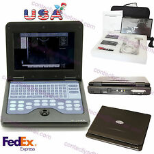 "US Seller!FDA Portable 10.1"" Laptop Ultrasound Scanner Machine with Convex Probe"