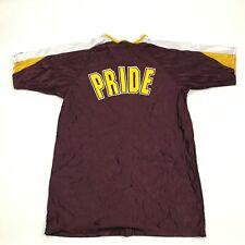 VINTAGE Wilson Mountain Pointe Pride Basketball Snap Button Jersey Warm Up Shirt