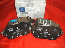 Genuine Mercedes-Benz W176 A-Class FRONT AMG Brake Pads & Sensor A0004203002 NEW