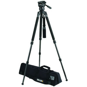 Miller CX6 Fluid Head with Solo 75 2-Stage Alloy Tripod System