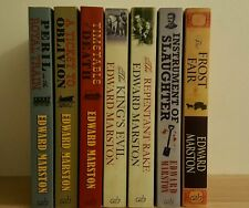 Railway Detective + others by Edward Marston 7 Books Timetable Death Frost Fair