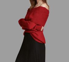 H&M Off-the-shoulder jumper Dark red Size XS NH003 JJ 10