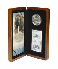 2005 Canada $5 Coin & Stamp Set - Walrus